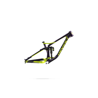Devinci Rahmen SPARTAN CARBON PURPLE/GREEN